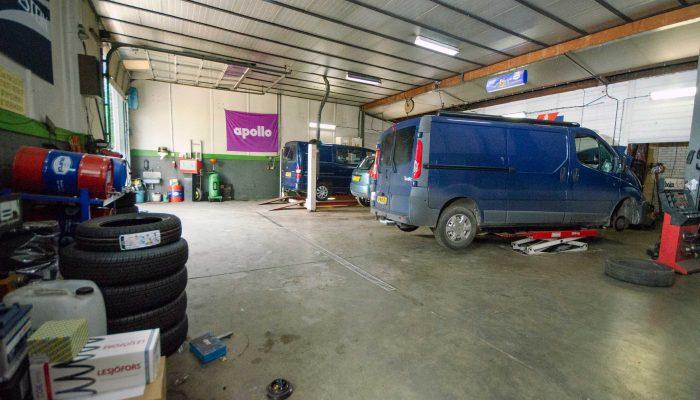 Garage Boer- Werkplaats overzicht